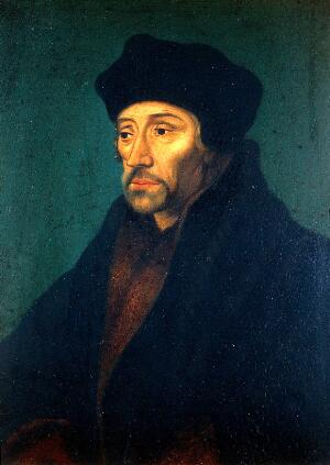 view Portrait of Desiderius Erasmus, half-length to left; anon., after a type attributed to Hans Holbien, circa 1530