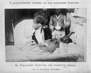 view Plague epidemic in Karachi, 1897