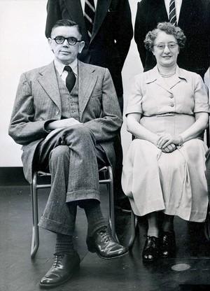 view Detail of Mr Michaeli, 1954