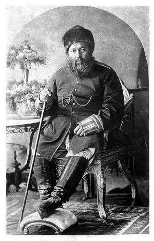 view Emir Abd or-Rahman, Rawalpindi, April, 1885