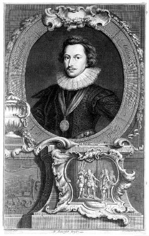 view Engraving: portrait of George Villiers,