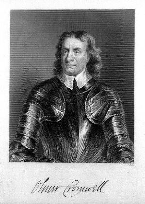 view Engraving: portrait of O. Cromwell, by W. Holl