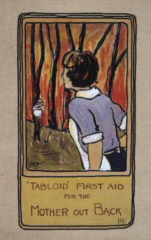 view Tabloid First Aid for the Mother out Back