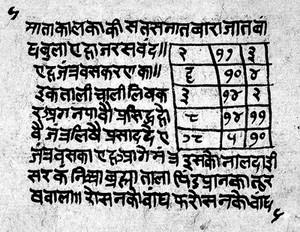 view Indic Manuscript 329, folio 5b