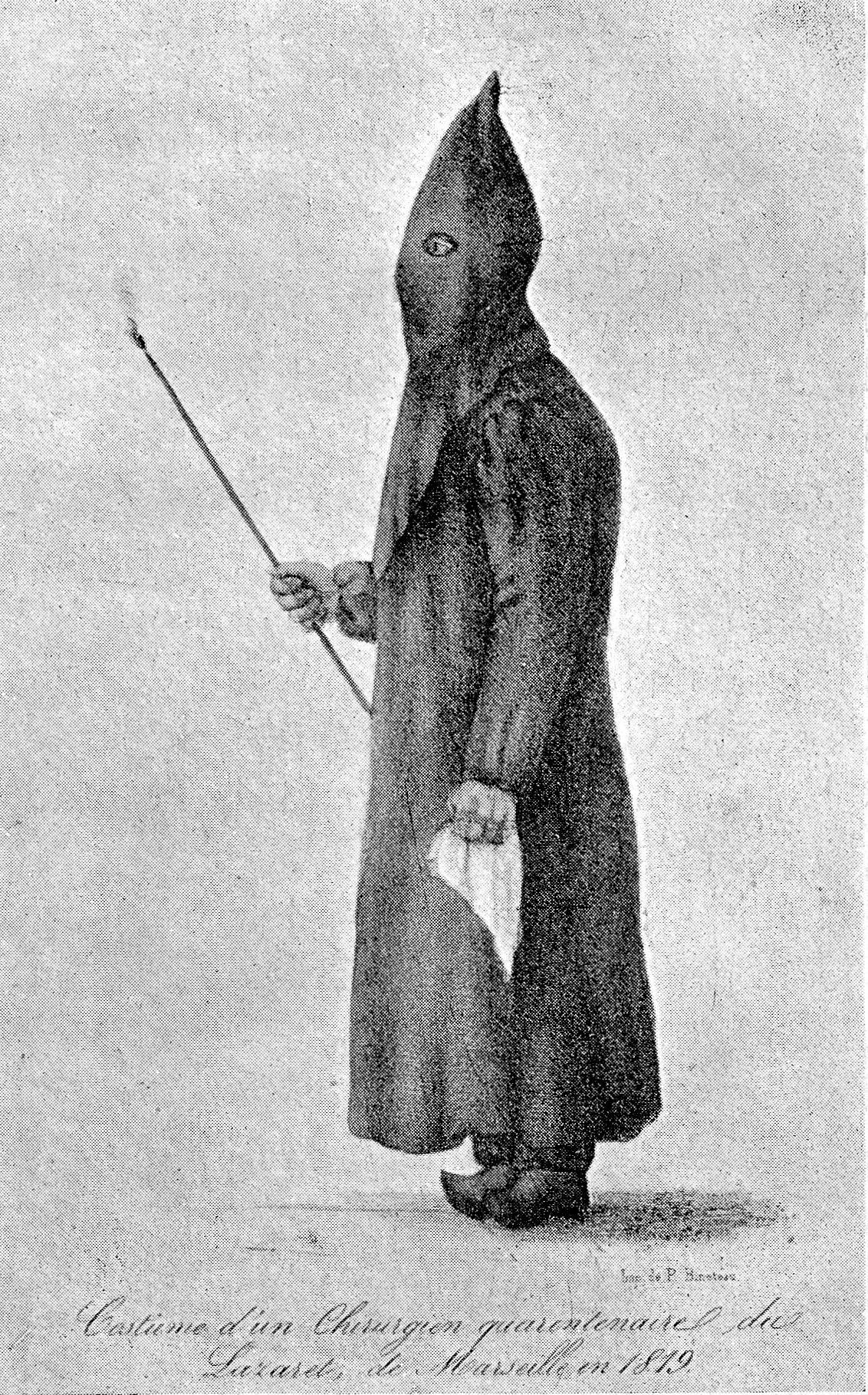 Plague doctors costume 'Costume d'un chirurgien ...