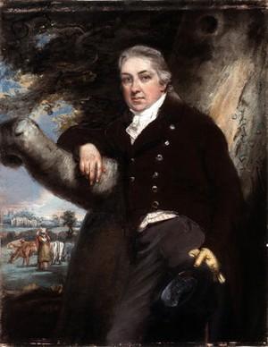 view Edward Jenner. Pastel by John Raphael Smith.