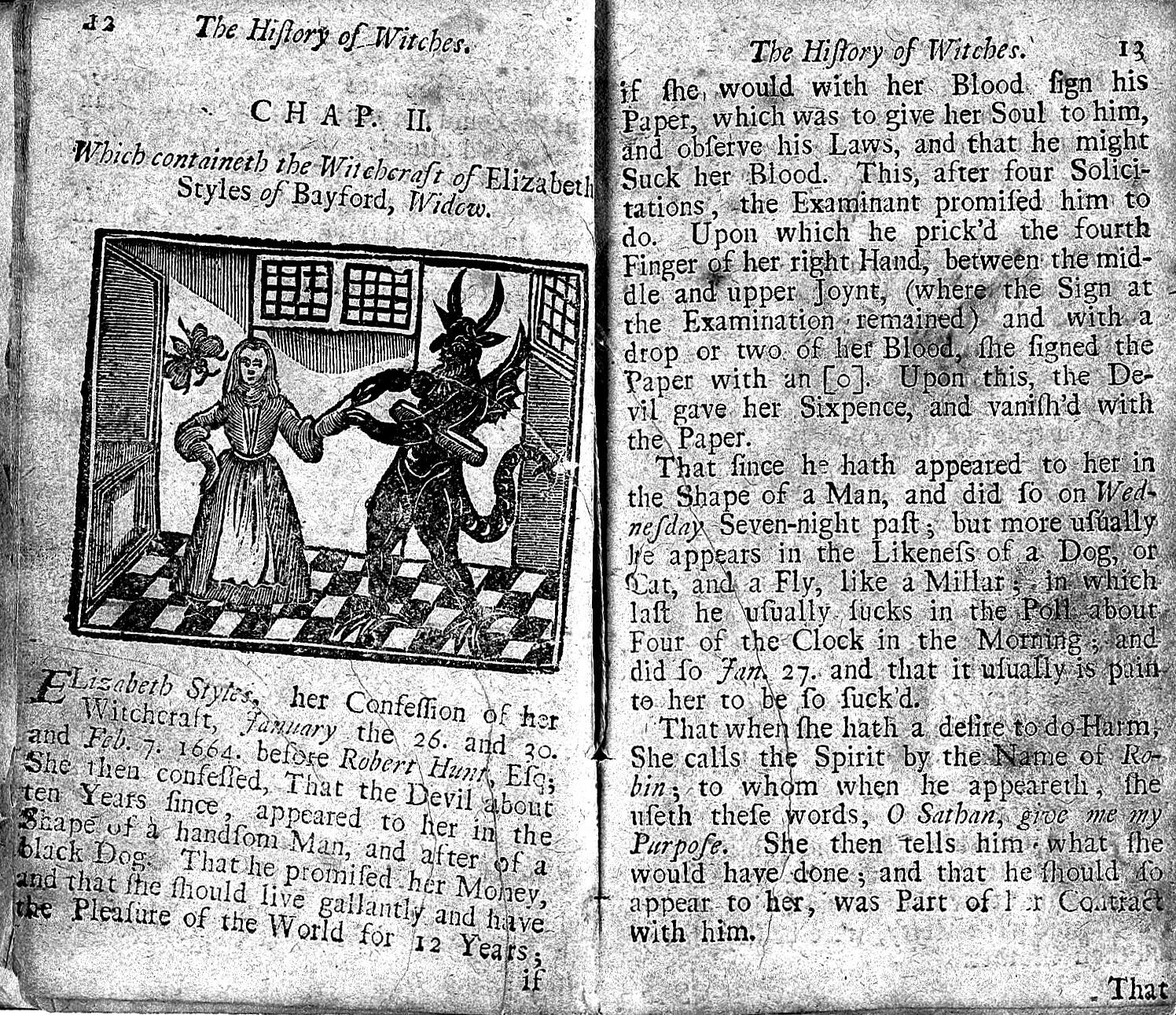 The History of Witches and Wizards, 1720   Wellcome Collection