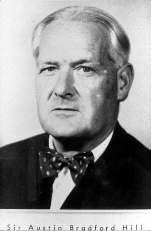 view Sir Austin Bradford Hill, portrait