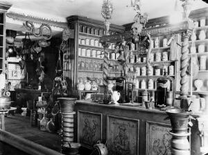 view Apothecary's laboratory