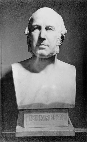 view Bust of William Sharpey.