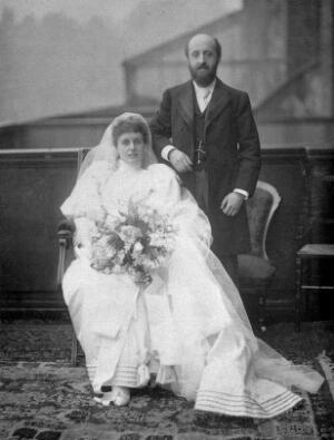 view Sir William Bayliss at his wedding.
