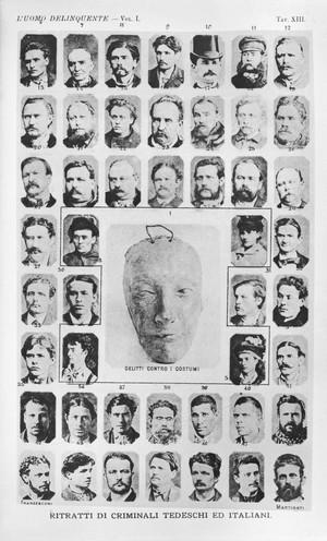view Cesare Lombroso, l'Uomo Delinquente, 1889