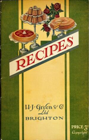 view Mod.Med. Pamphlets, Recipes, front cover