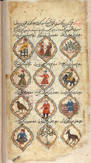 view MS Persian 373, folio 35 verso