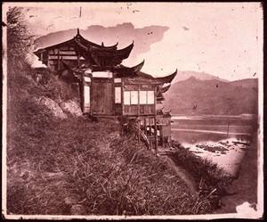 view River Min, Fukien province, China.