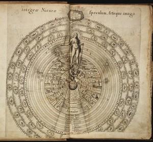 view R. Fludd, Utriusque cosmi maioris scilicet...1617-1618