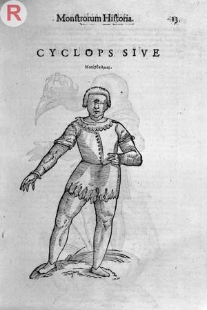 view MONSTROSITY: Cyclop. Ulisse Aldrovandi, Opera omnia Bononiae : apud