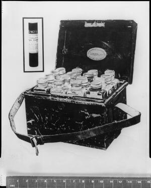 view Medicines and Medicine chest: Peary North Pole 1909