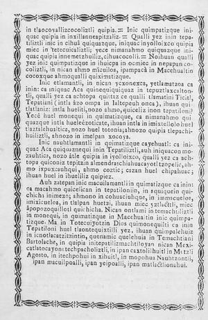 view Translation into Aztec language