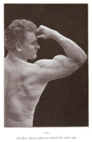view Eugen Sandow: Life of the Author as told in Photographs. Another photo taken at about the same age (23/24)