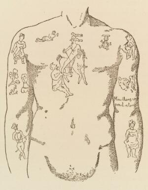 view Tattoos on the body