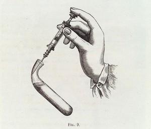 view Pravaz syringe