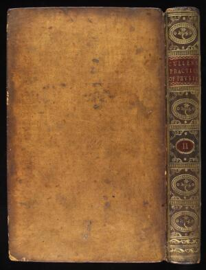 view Back cover and binding of' 'Cullen's Practice of Physics'