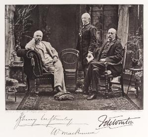 view Henry M. Stanley, Sir William Mackinnon and Sir F. de Winton