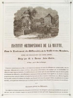view Institut orthopédique de la Muette (Paris, France).