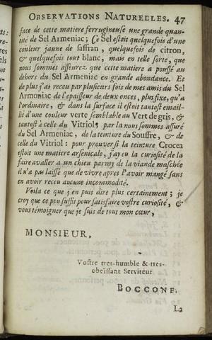 view Septieme Lettre a Monsieur L'abbe Bourdelot, 1674