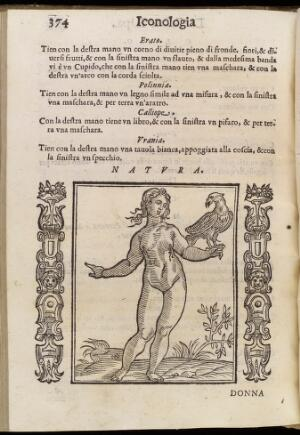 view Personification of 'Nature' from Cesare Ripa's 'Iconologia..'