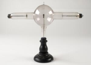 view A 19th century X-ray tube.