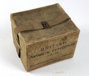 view A Burroughs Wellcome Co medicine chest