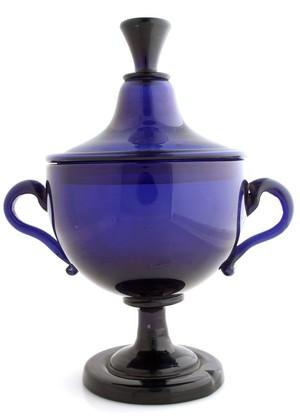 view Purple medicine jar
