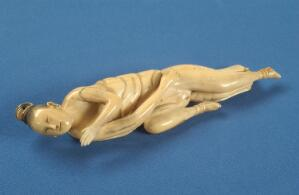 view Ivory Chinese diagnostic doll