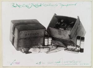 view Tabloid medicine chest from Scott Polar Expedition