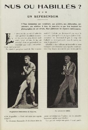 view Article contrasting the nude versus the clothed body