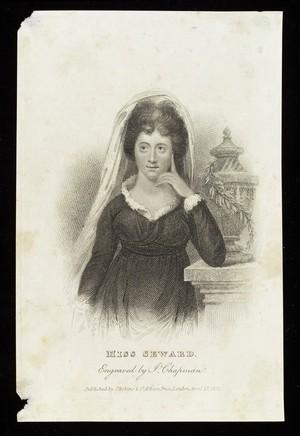 view Portrait of Anna Seward, poet & literary critic