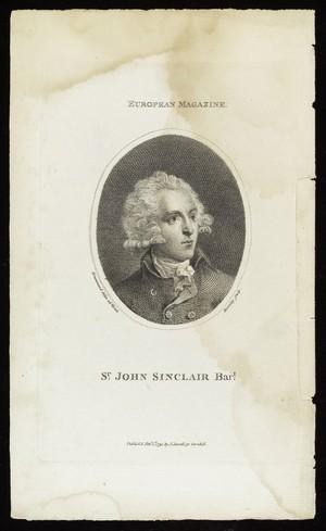 view Portrait, Sir John Sinclair, politician & writer