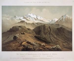 view Summit of Kanchinjinga, Himalaya, Sikkim