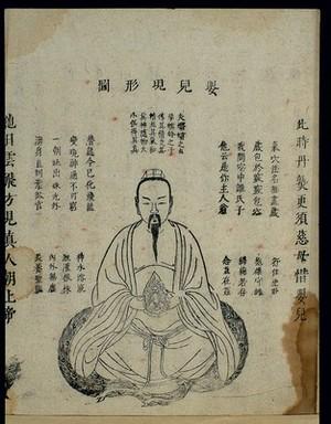 view Chinese woodcut: Daoist internal alchemy (12)