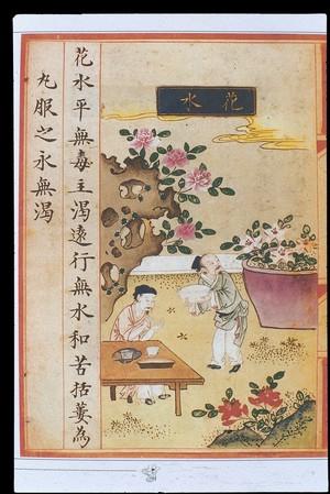 view Chinese Materia Dietetica, Ming: Flower water