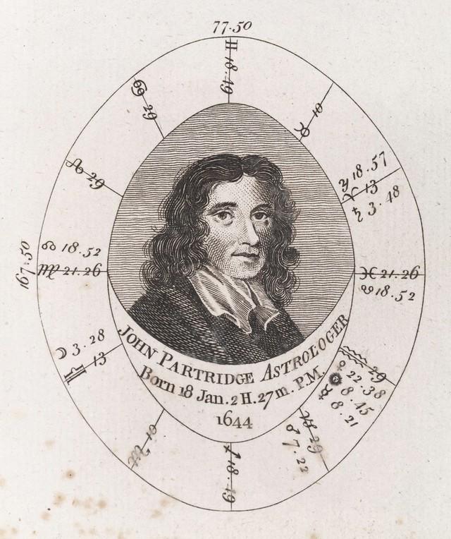 Astrological birth chart for John Partridge, Astrologer