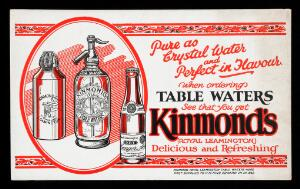 view Advert for Kimmond's Table Waters