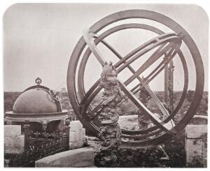 view A Zodial Sphere and Celectial Globe, Peking Observatory