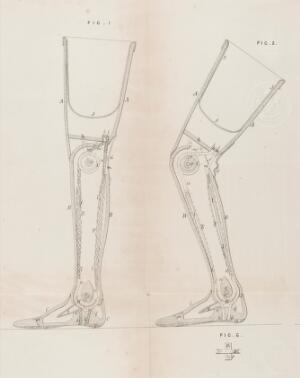 view Patent for artificial legs