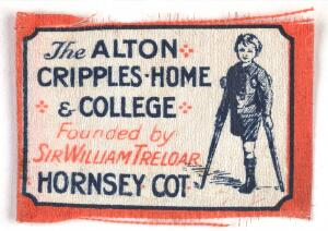 view Charity flag for Alton Cripples Home & College : founded by Sir William Treolar in 1908