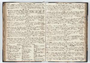 view Page from Henry Vandyke Carter's Journal for 25th December 1850-7th Jan 1851.