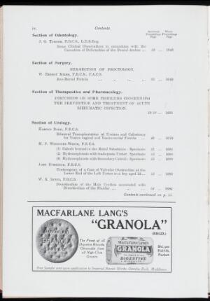 view Proceedings of the Royal Society of Medicine, Sept 1932
