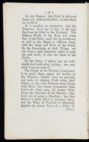 view An answer to a late pamphlet intituled A letter to Dr. Smellie; shewing the impropriety of his new invented wooden forceps / [William Smellie]